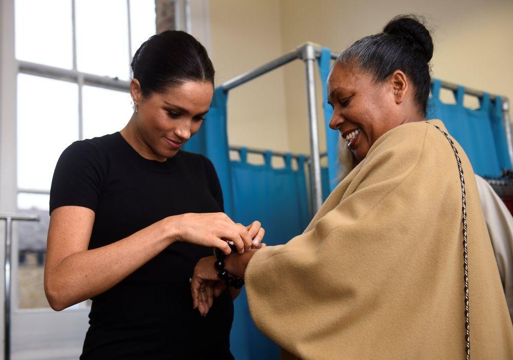 Meghan Markle diseñará una colección de ropa con fines solidarios
