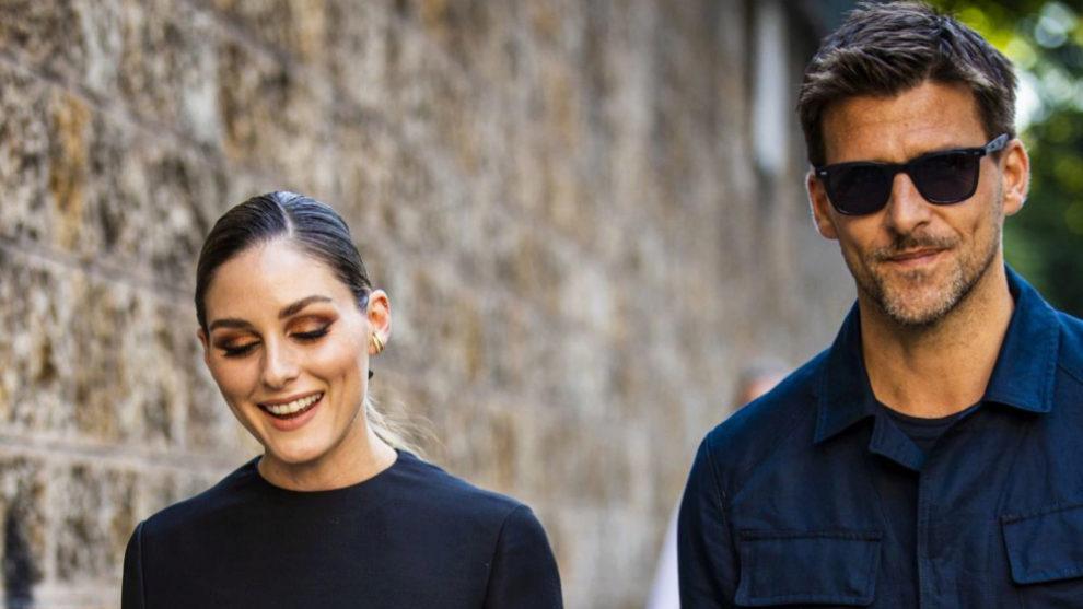 Olivia Palermo y su marido Johannes Huebl