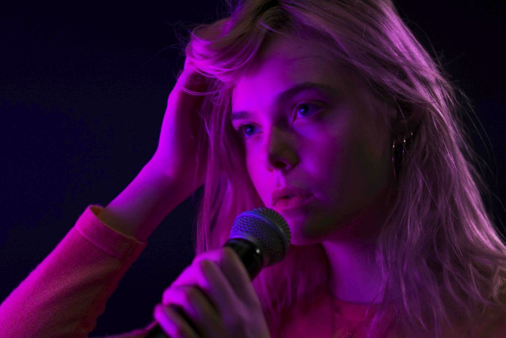 Elle Fanning en Alcanzando tu sueño (Teen Spirit)