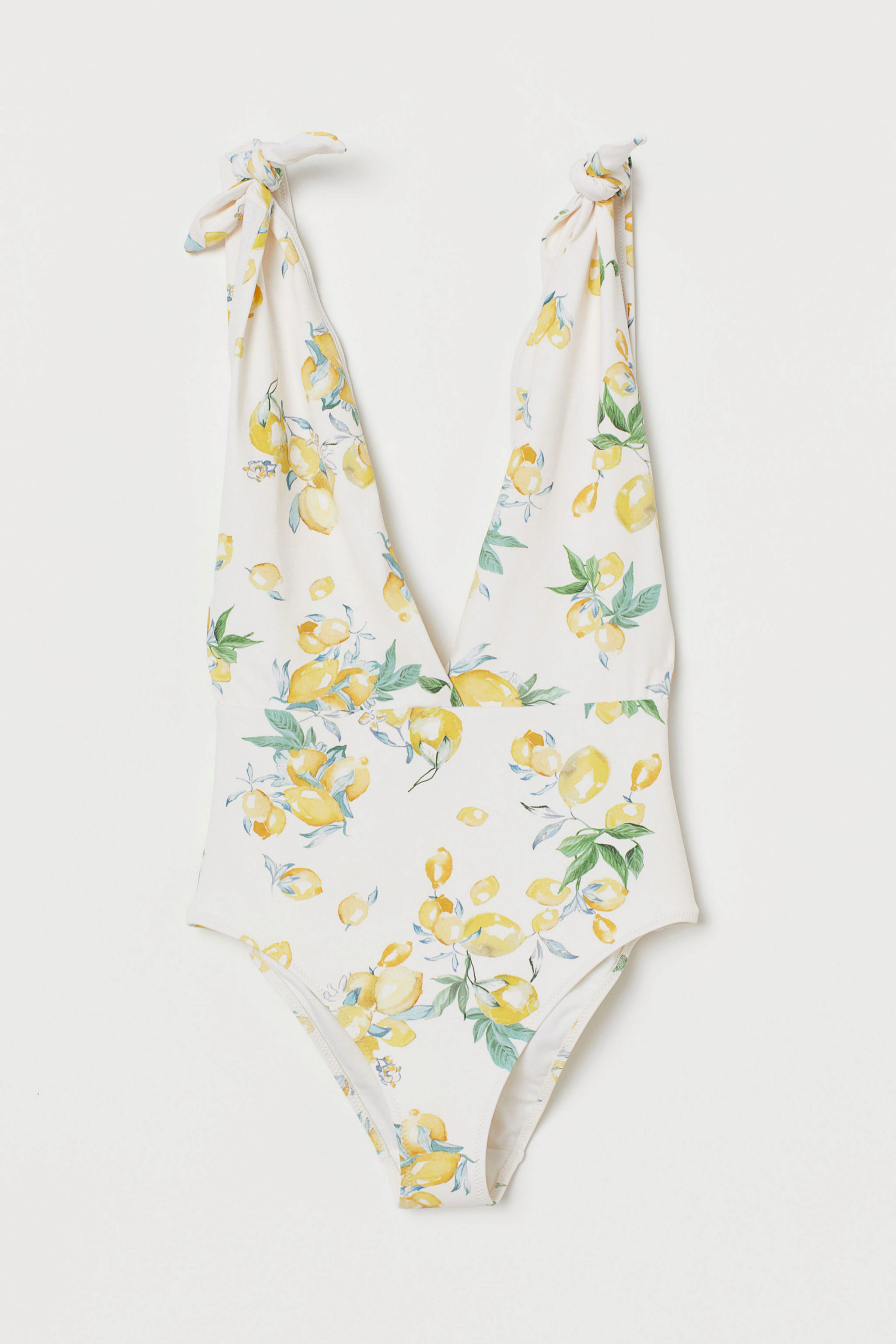 Traje de baño con print de limones de H&M