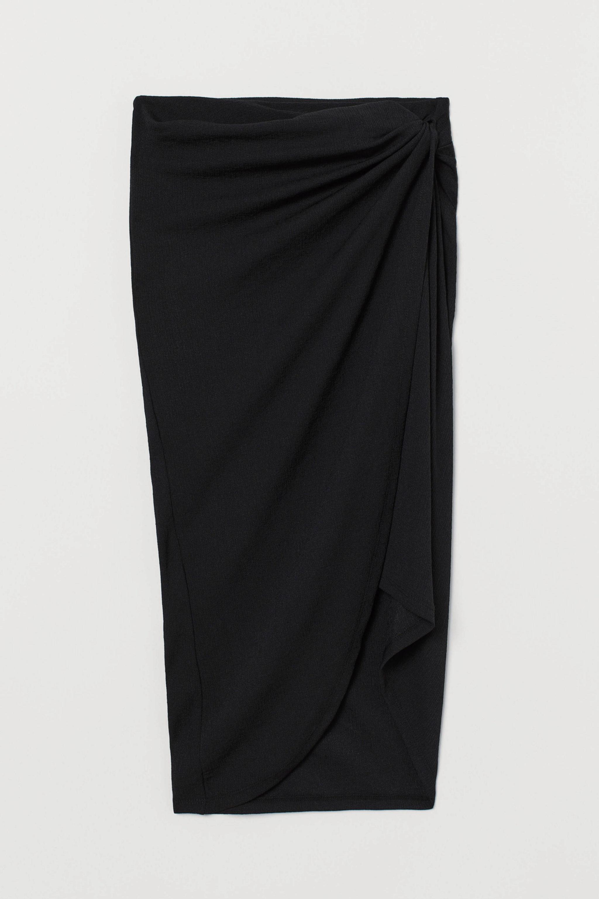 Falda tipo pareo de H&M