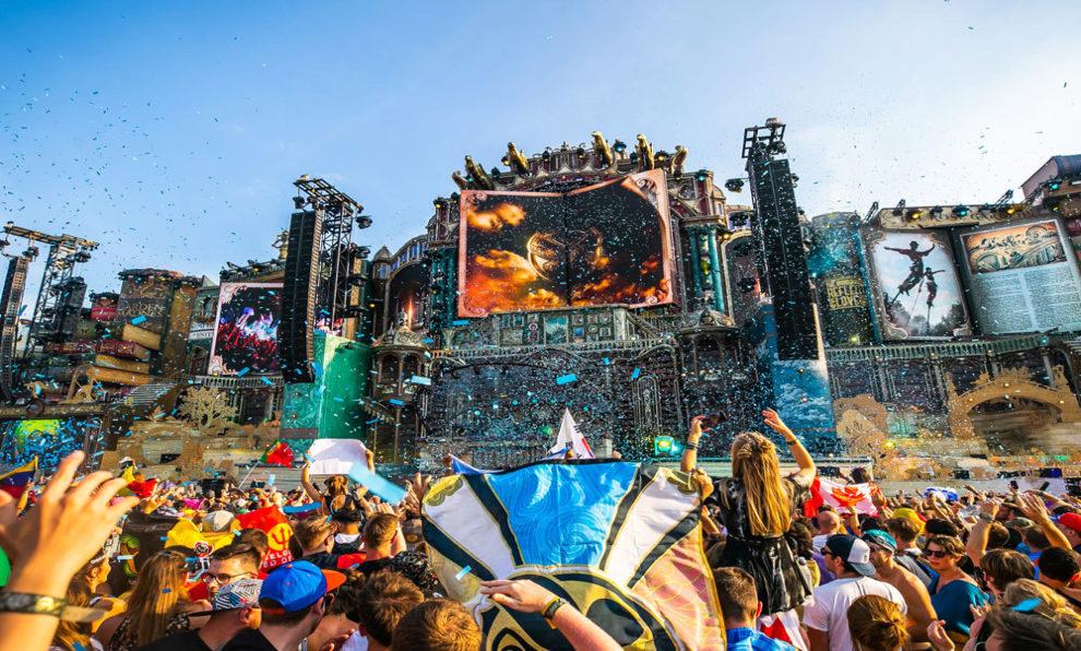 El impactante Mainstage, escenario principal de Tomorrowland, en Boom...
