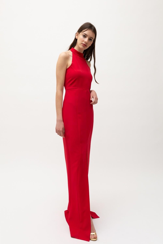 Vestido largo, de Bimani 13 (124,50 euros).