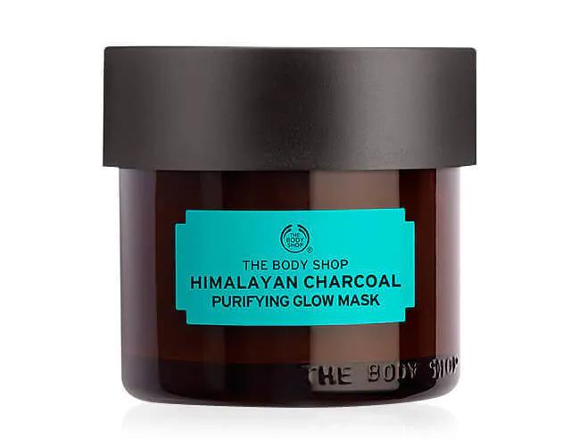 Mascarilla Cuidado Experto Purificante de Carbón del Himalaya de The Body Shop.