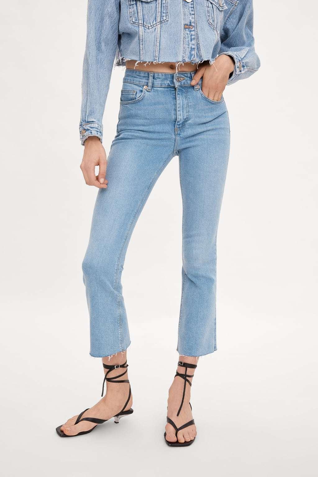 Jeans de rebajas de Zara.
