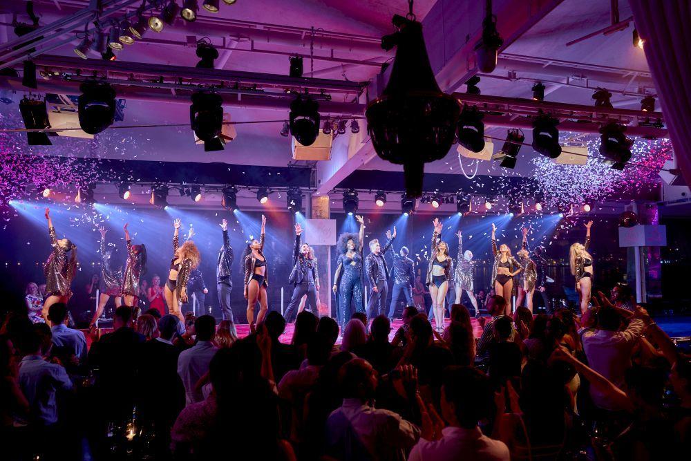 Espectáculo musical en Lío Ibiza