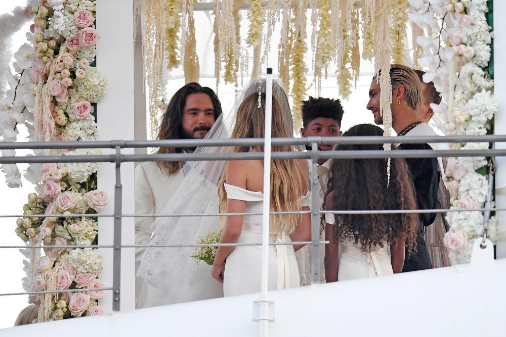 Hedi Klum se casa en Capri con  Tom Kaulitz.