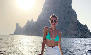 Chiara Ferragni en Ibiza