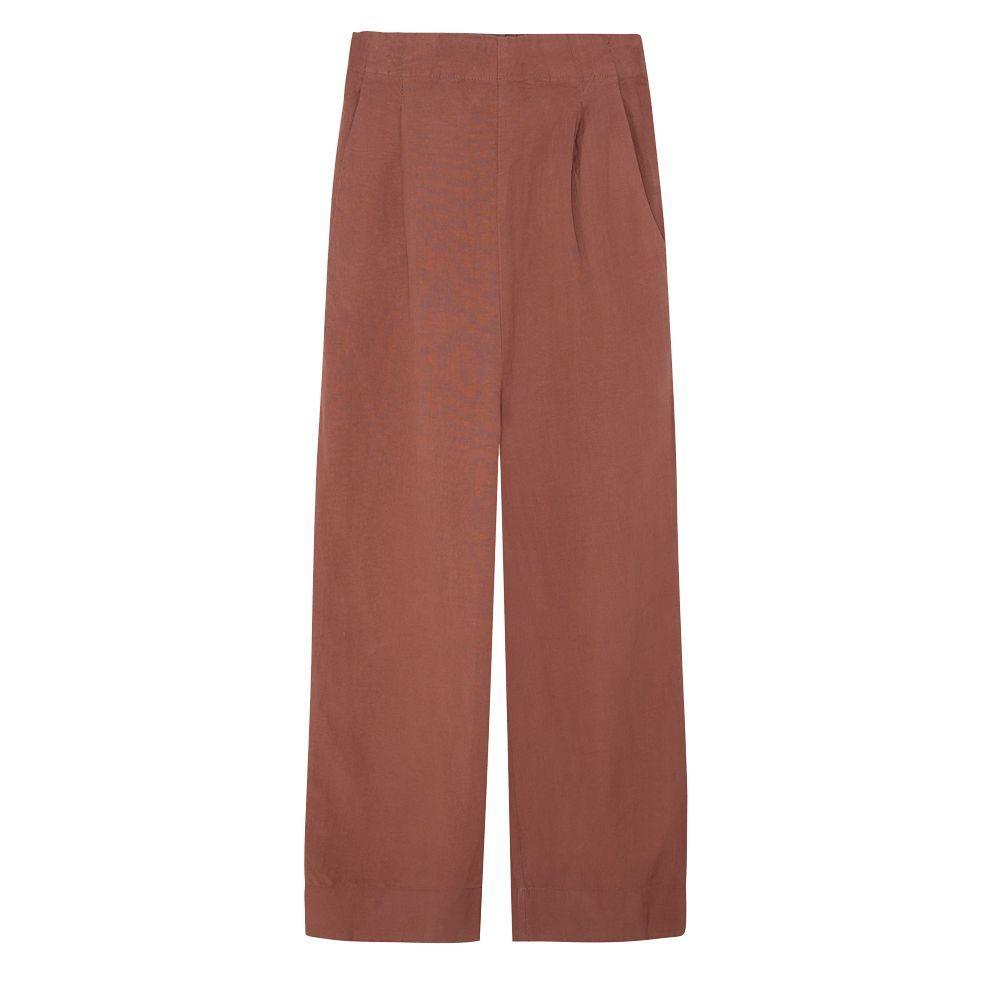 Pantalón de lino, de Oysho