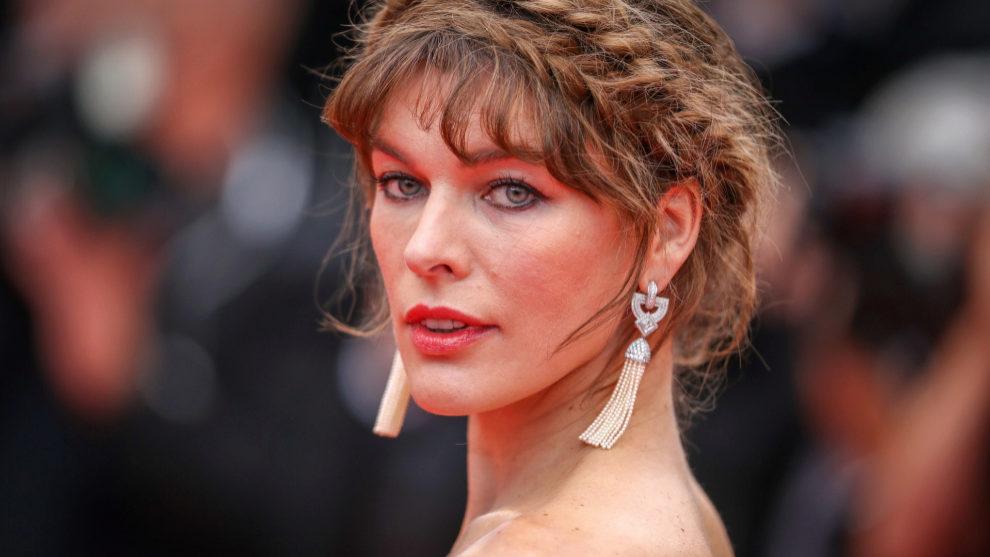 Milla Jovovich en Cannes 2019