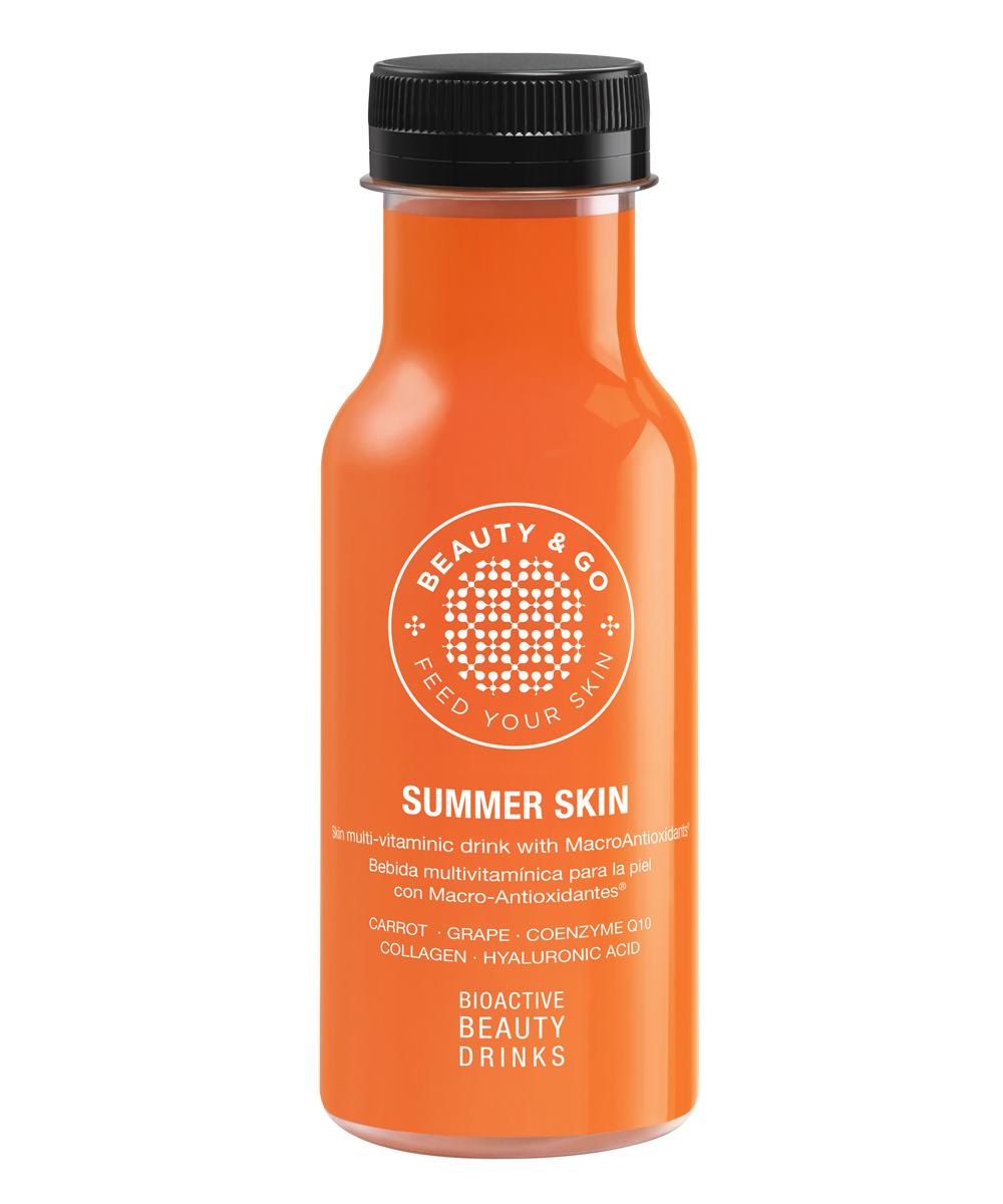 Bebida con macroantioxidantes Summer Skin de Beauty&Go.
