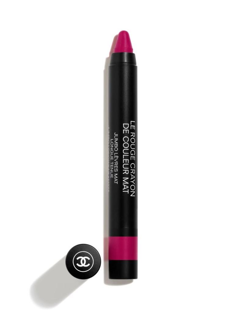 Lápiz de labios Le Rouge Crayon de Couleur Mat de Chanel.