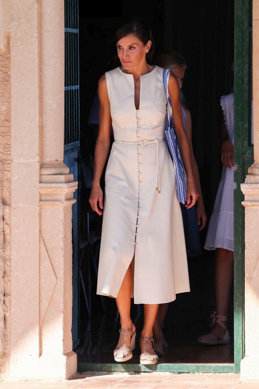 La reina Letizia en Palma de Mallorca.