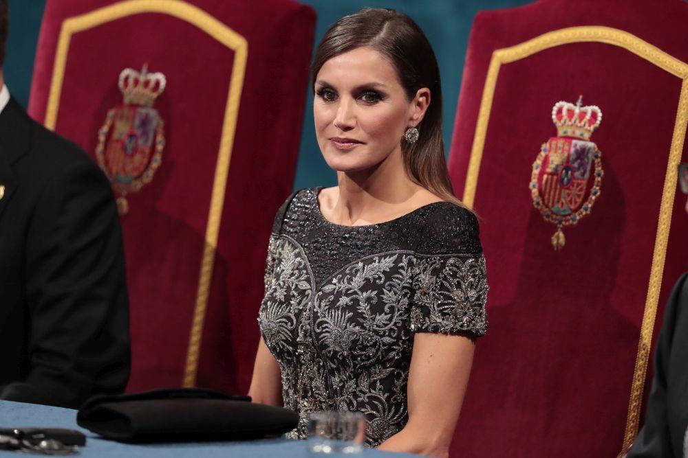 La reina durante los Premios Princesa de Asturias.