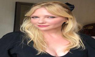 La actriz Kirsten Dunst estrena flequillo largo XXL en versión...