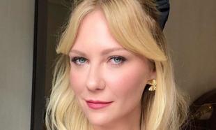 Kirsten Dunst: flequillo largo cortina