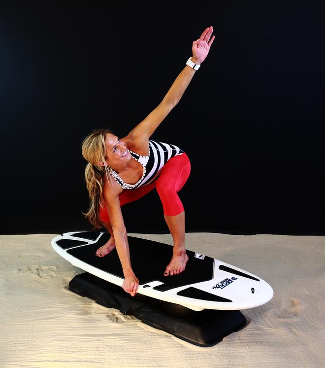 Las tablas Surfset Fitness son una buena idea para practicar la...