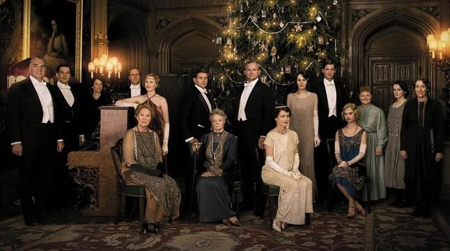 Imagen de la serie Downton Abbey.