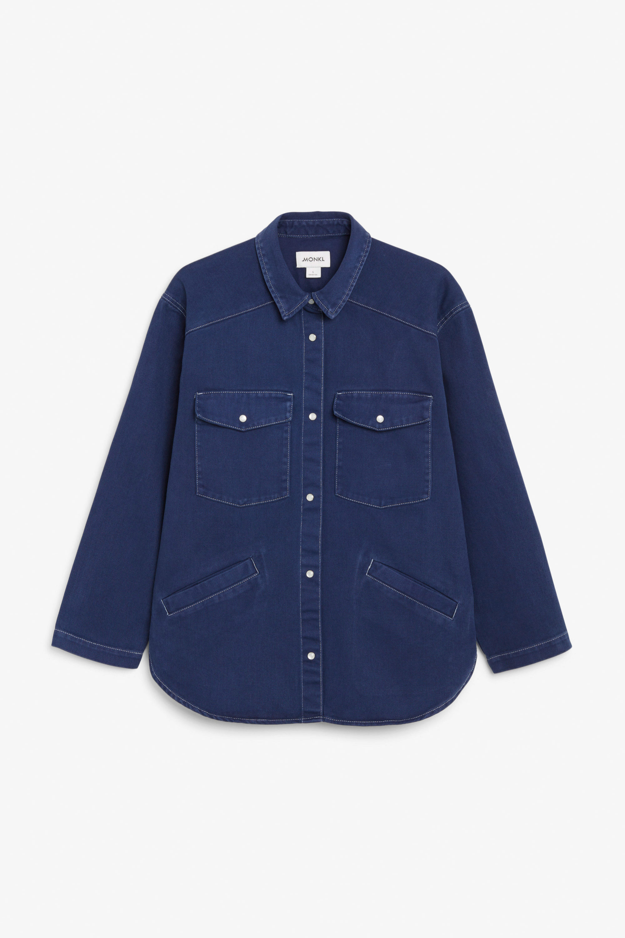 Sobrecamisa oversized denim de Monki