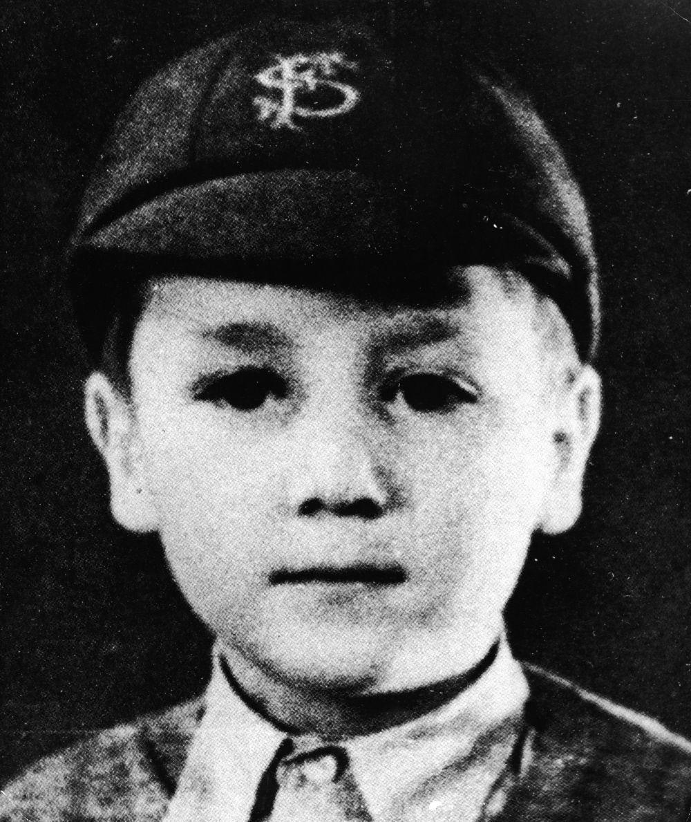 John Lennon con 7 años.