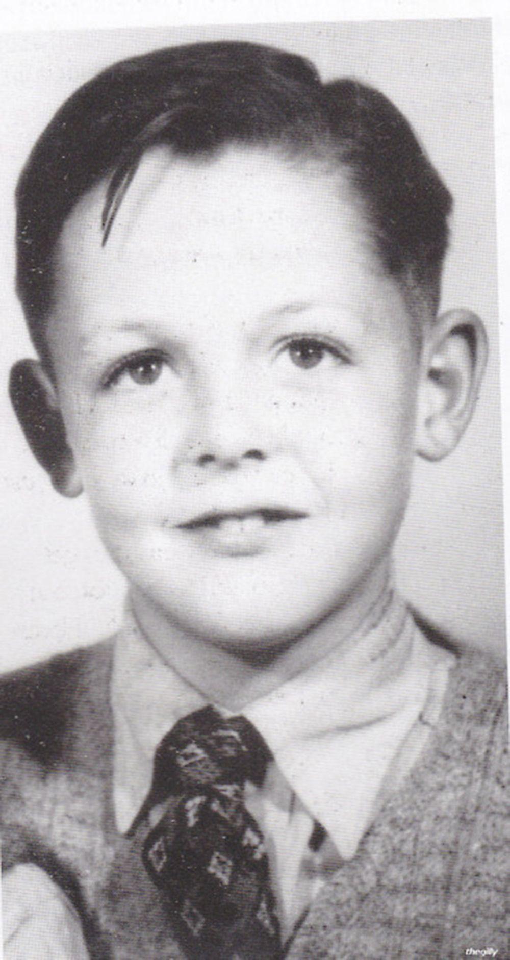Paul McCartney de pequeño.