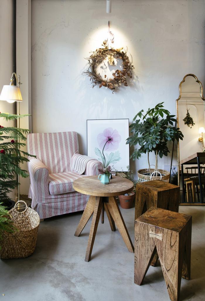 La floristería café Cocomood.