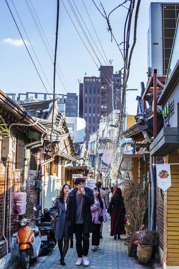 Ikseon-dong, uno de los principales barrios emergentes de la capital