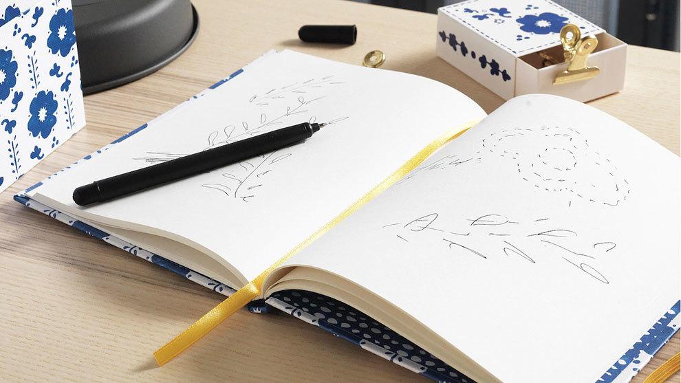 En la sección de papelería de IKEA encontrarás cuadernos, carpetas,...