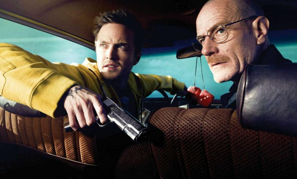 Los actores Aaron Paul y Brian Cranston fueron los protagonistas de...
