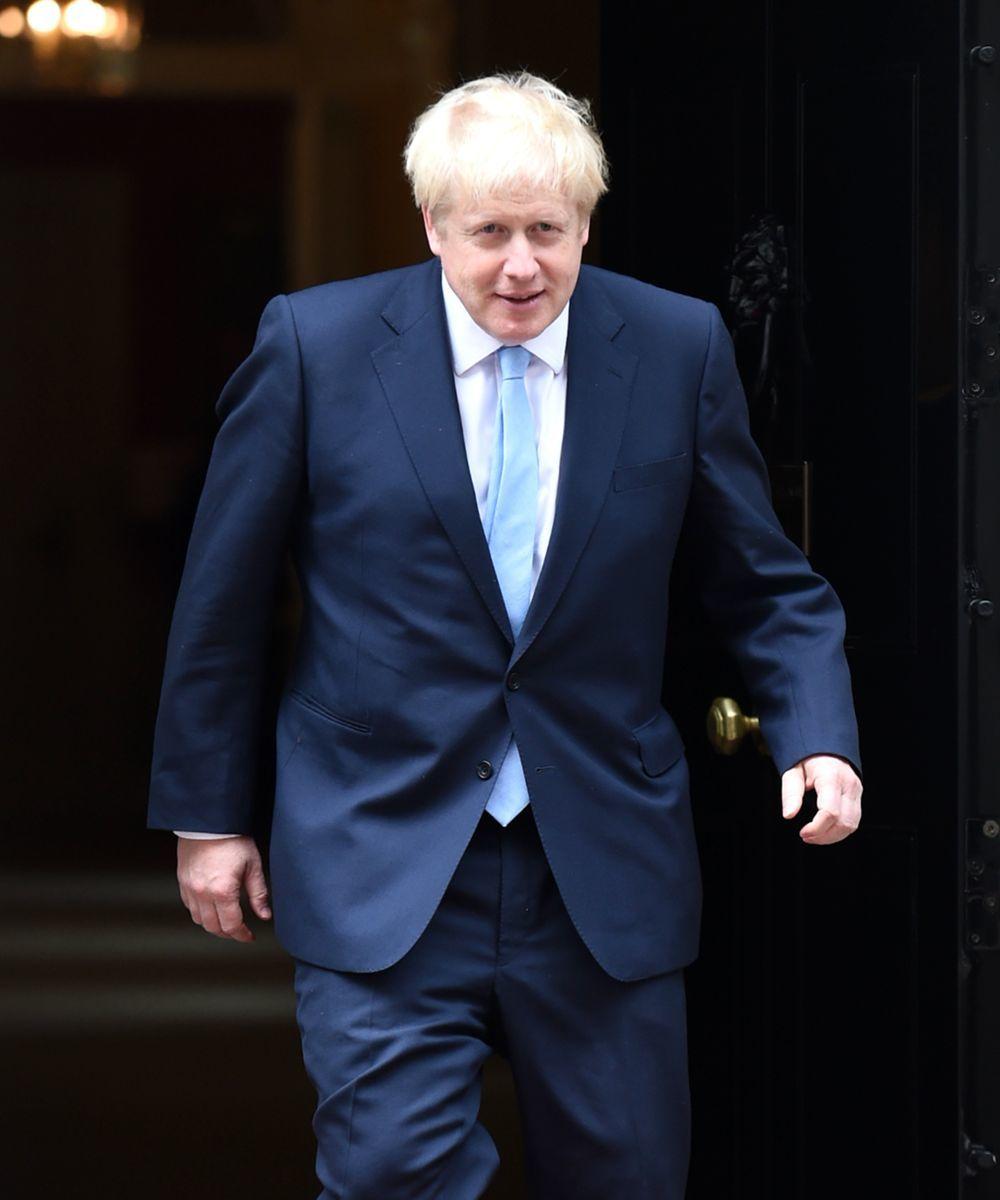 Boris Johnson recién proclamado Primer Ministro de Reino Unido.