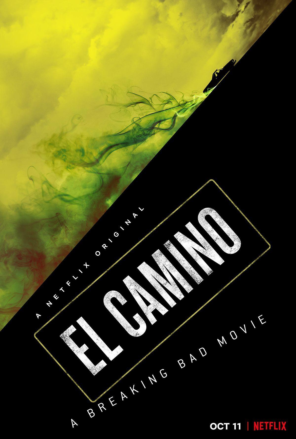"""Cartel de """"El Camino"""", la nueva película de Netflix."""