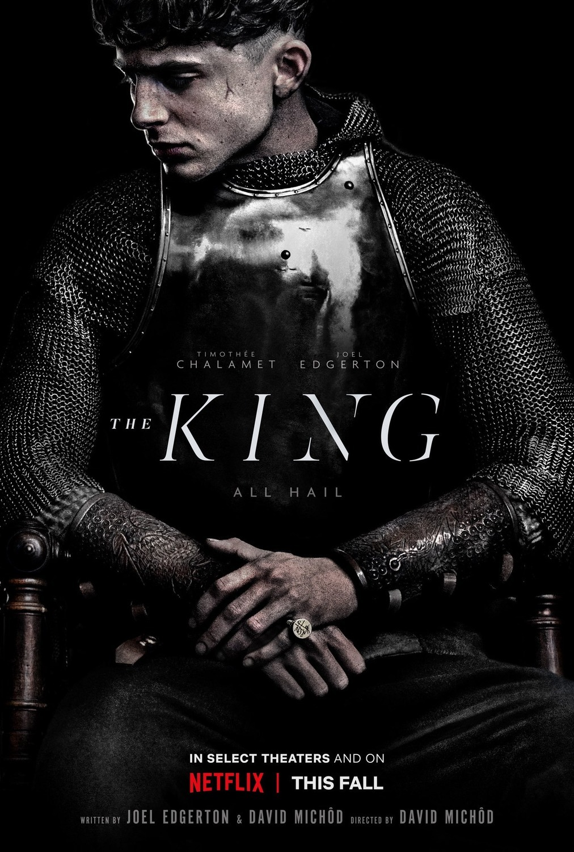 "La película ""The King"", protagonizada por Timothée Chalamet."