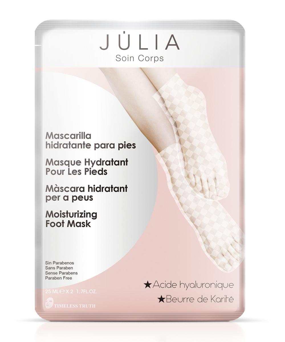 Mascarilla hidratante para pies de Júlia.