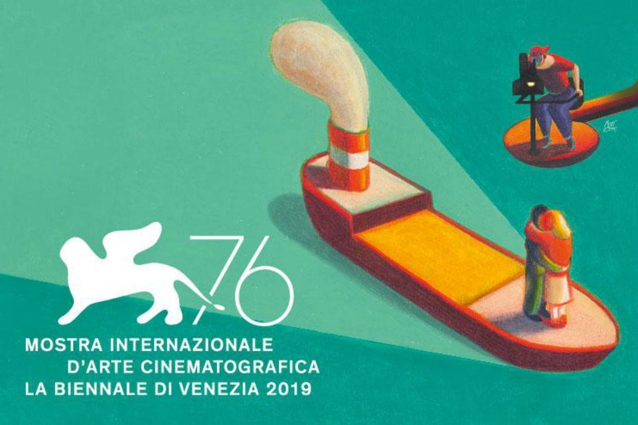 Póster oficial de la 76ª edición del Festival de Cine de Venecia.