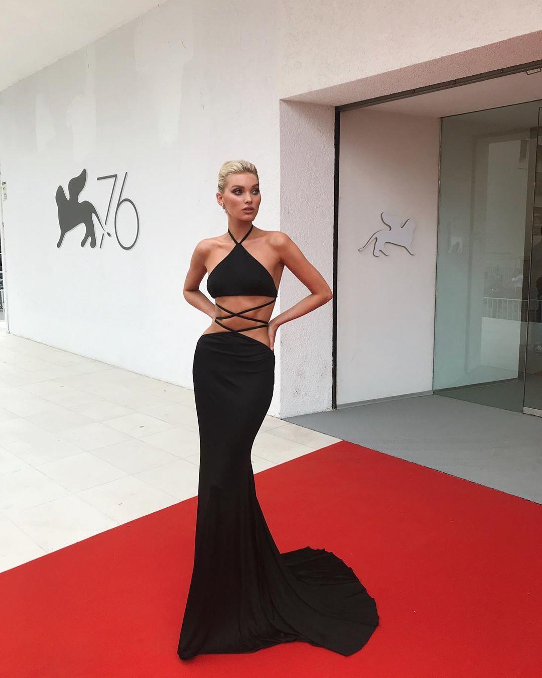 Elsa Hosk con diseño de Etro