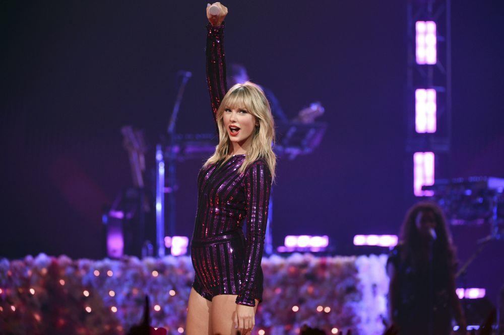 Taylor Swift es la cantante mejor pagada.