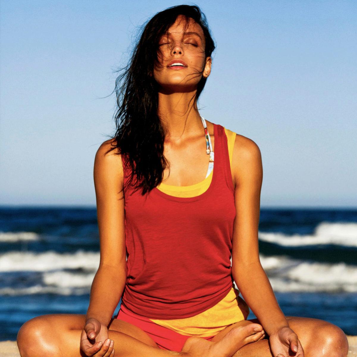 La meditación, si es guiada, resulta más sencilla.