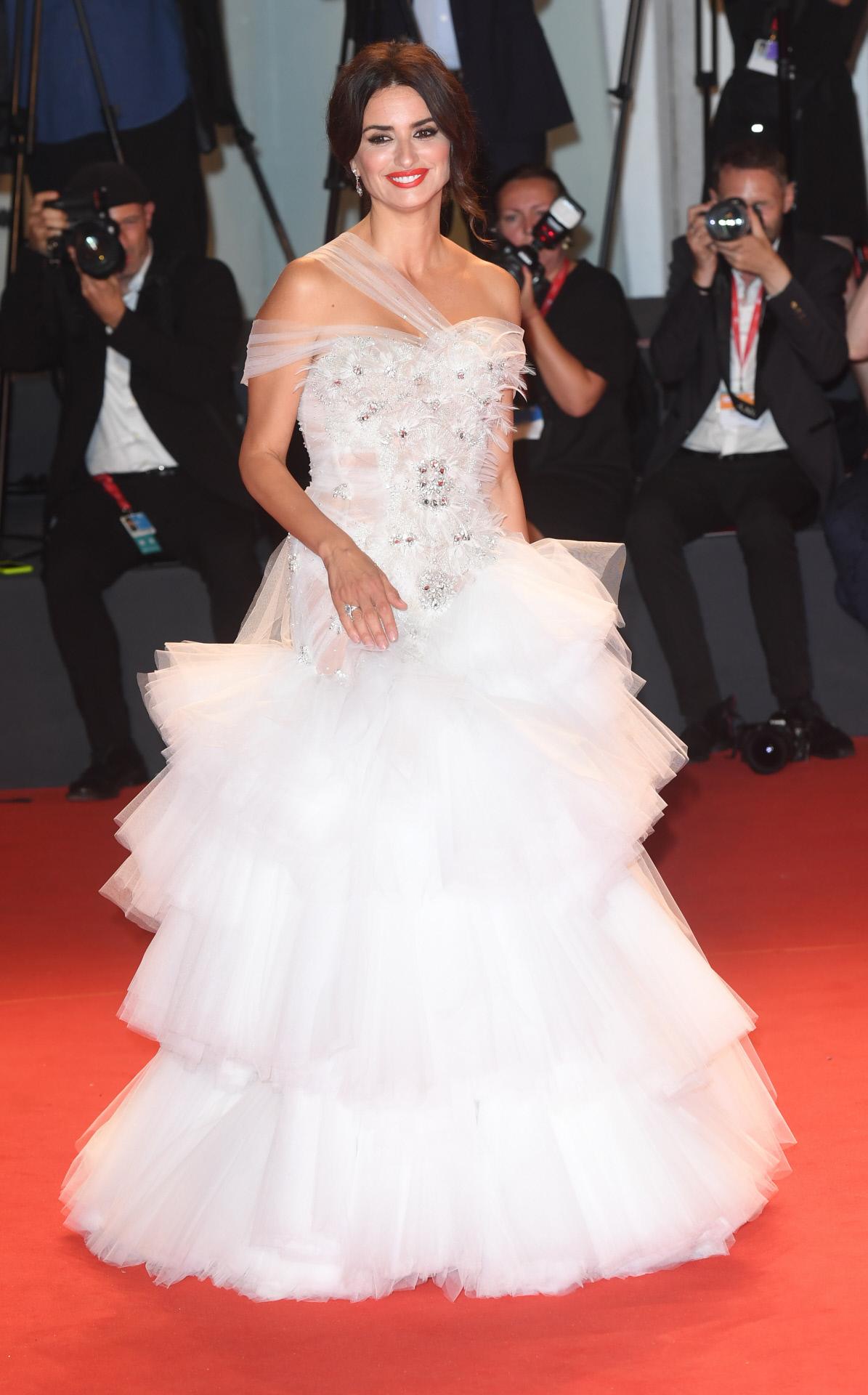 Penélope Cruz en el Festival de cine de Venecia