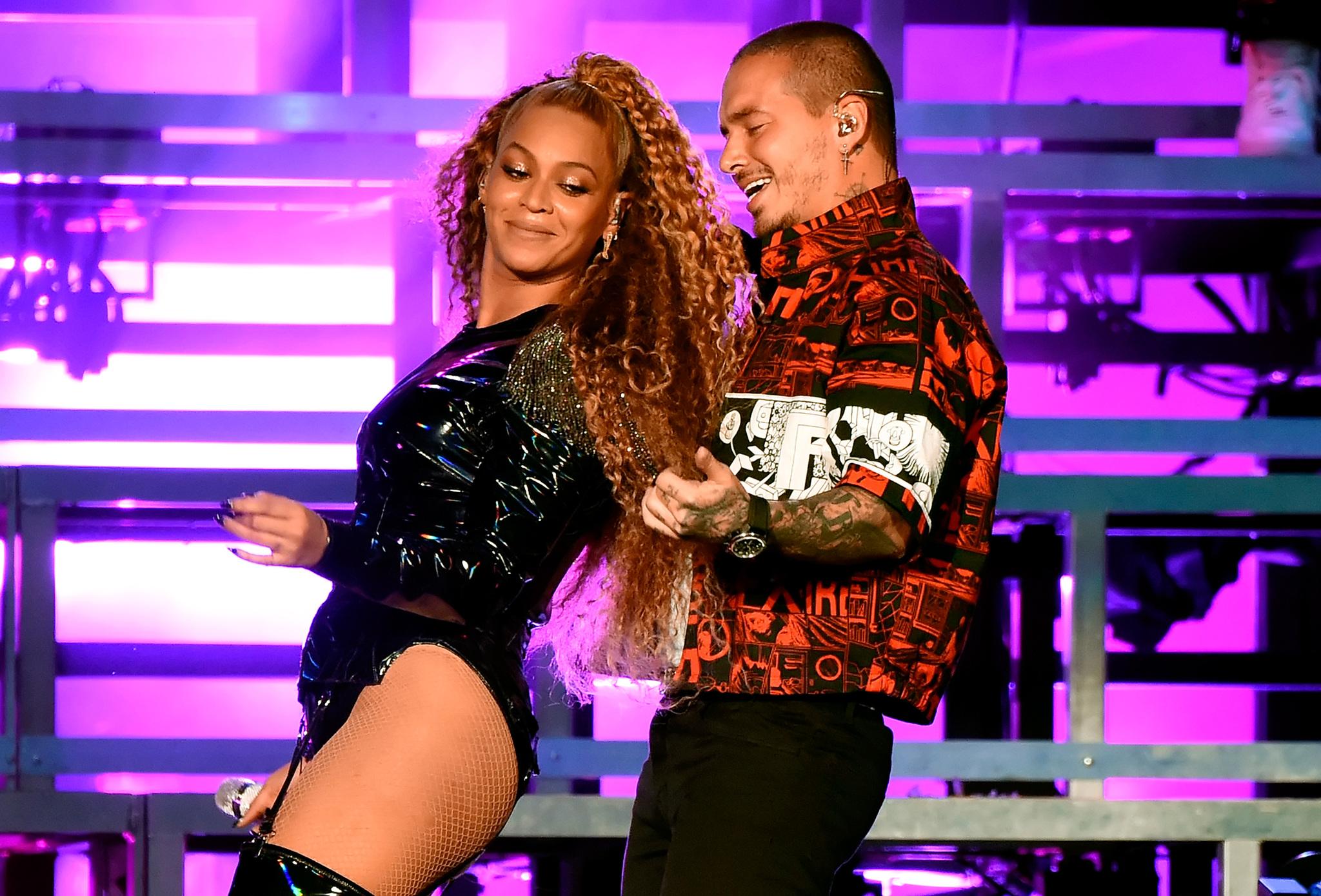 """Beyoncé junto a J Balvin al ritmo de """"Mi gente"""""""