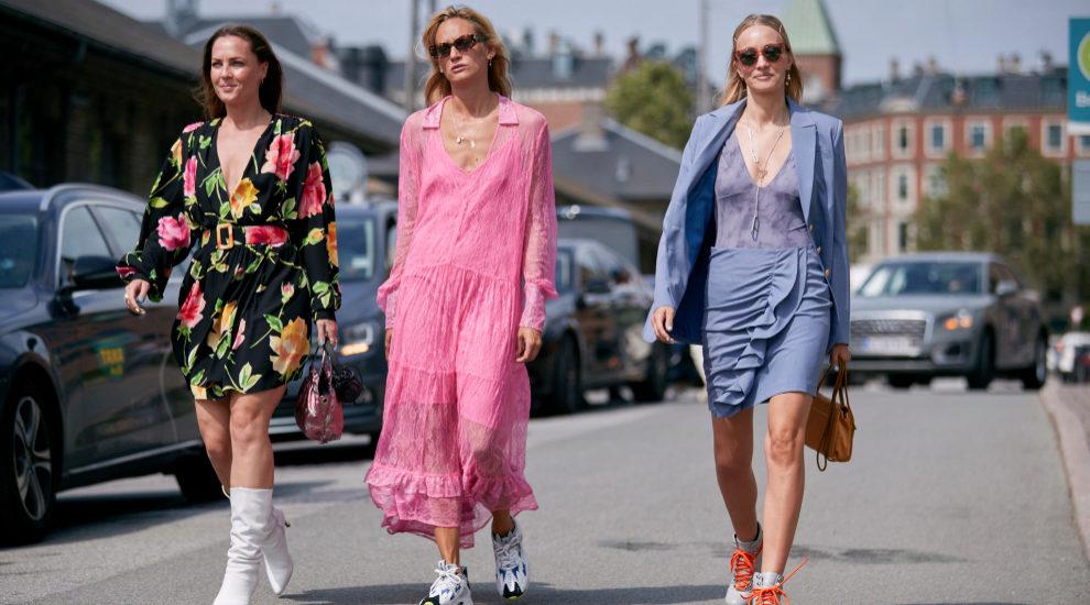 Hemos visto muchas faldas en la semana de la moda de Copenhague