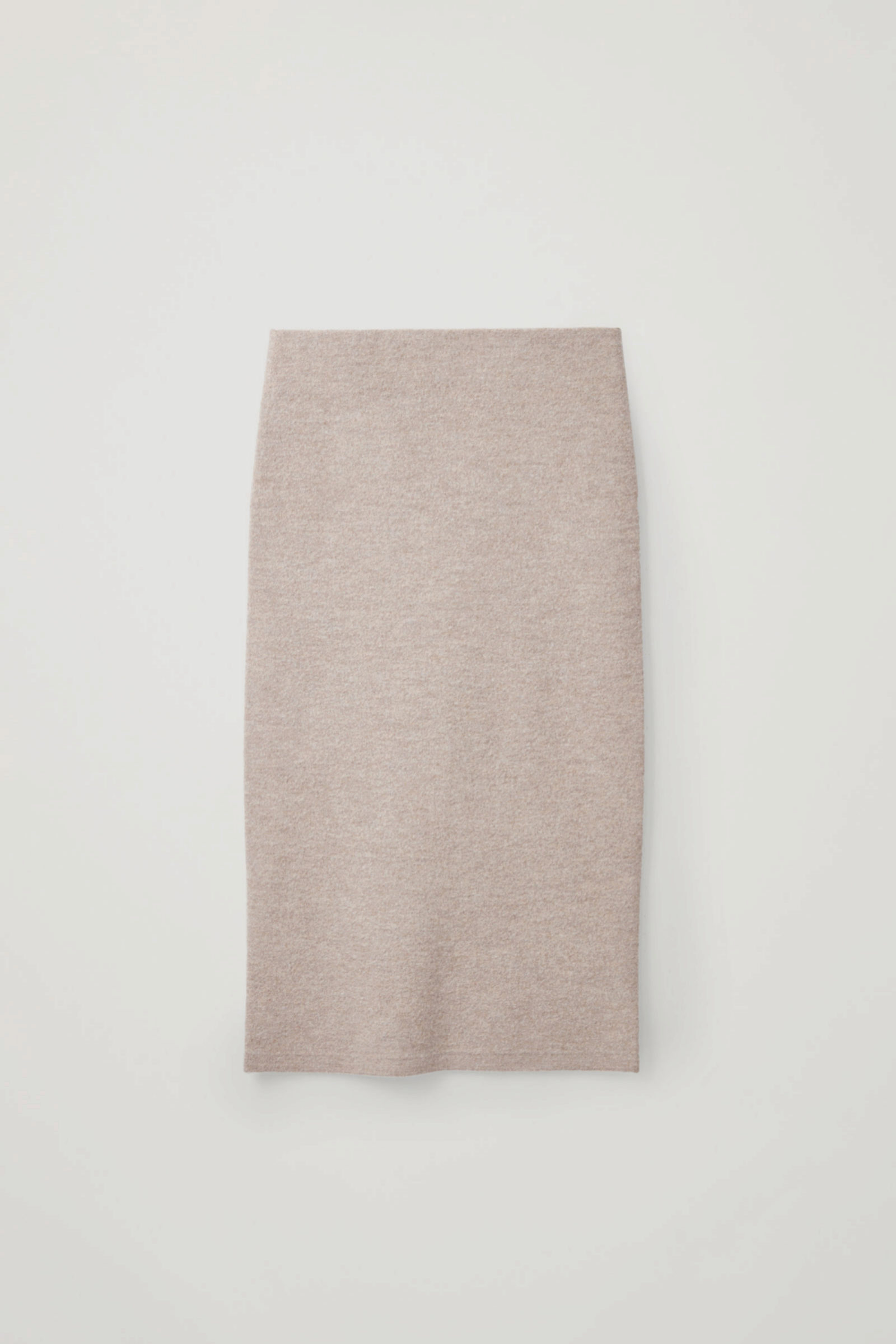 Falda lápiz de lana de COS