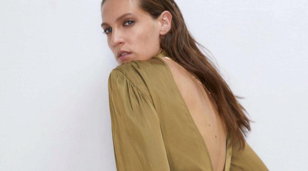 Zara apuesta por vestidos y tops con la espalda al aire
