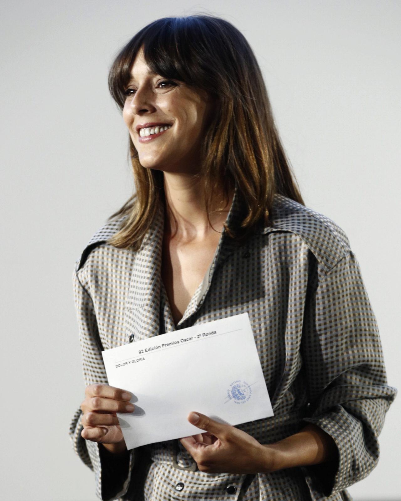La actriz Belán Cuesta ha sido la encargada de anunciarlo