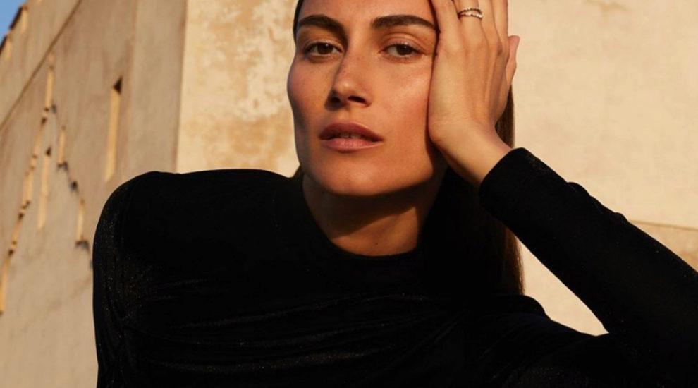 Giorgia Tordini también apuesta por el negro