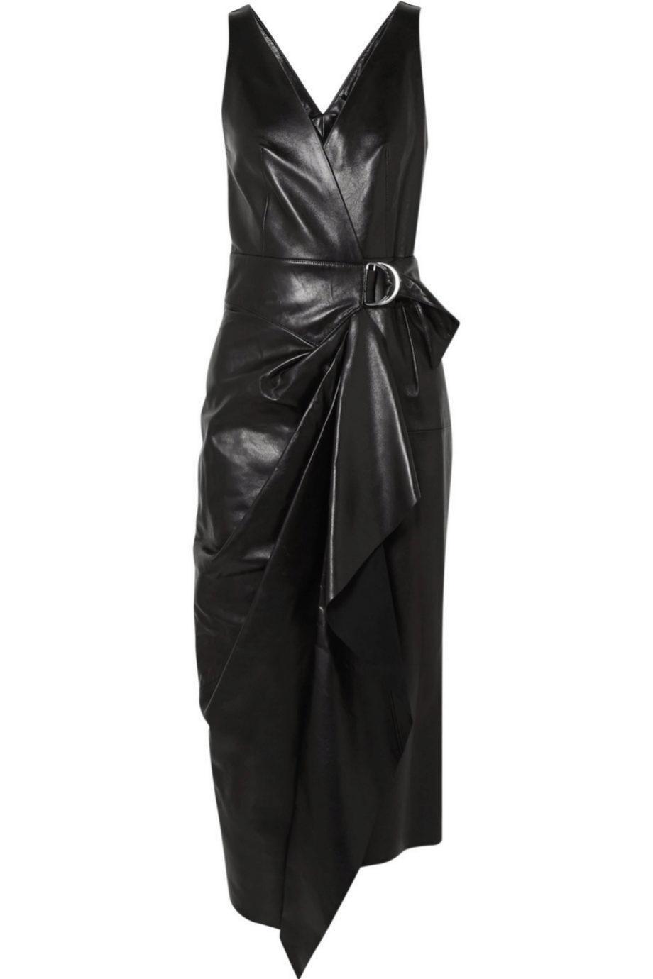 Vestido tipo wrap de Isabel Marant