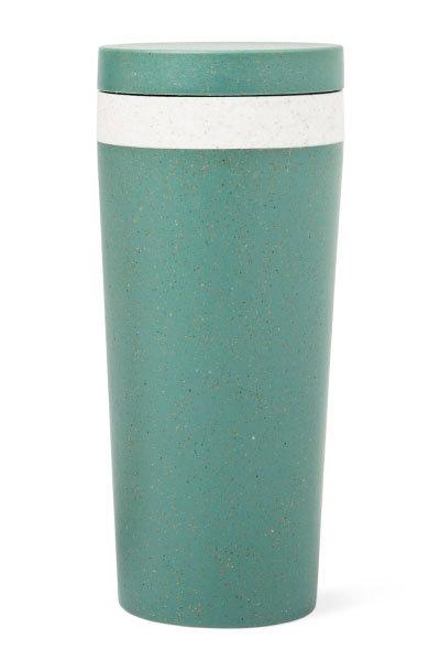Vaso de melamina de bambú. De Flying Tiger (3 euros).