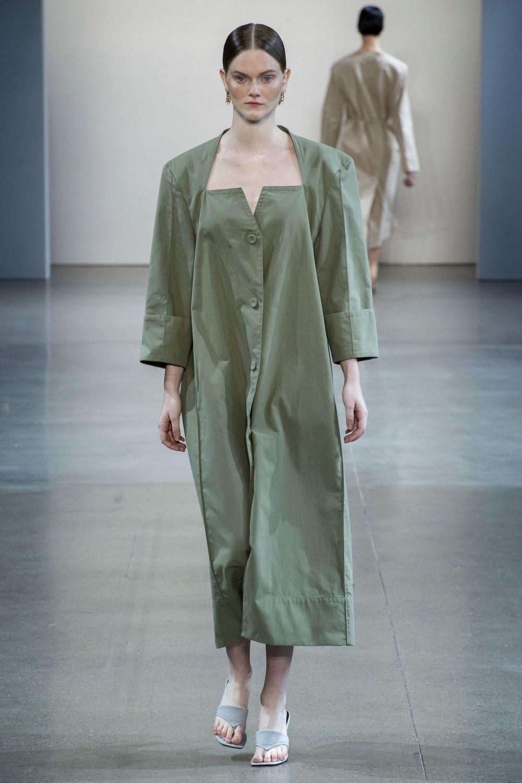 Vestido en tejido de gabardina de la marca Bevza