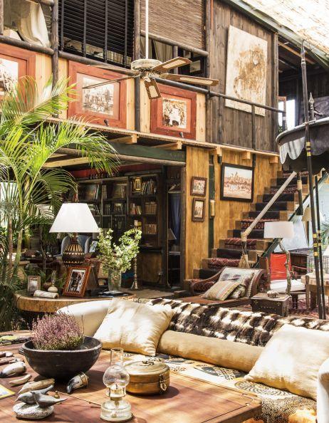 Salón de la casa de Lorenzo Queipo de Llano
