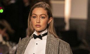Gigi Hadid en el desfile de Ralph Lauren