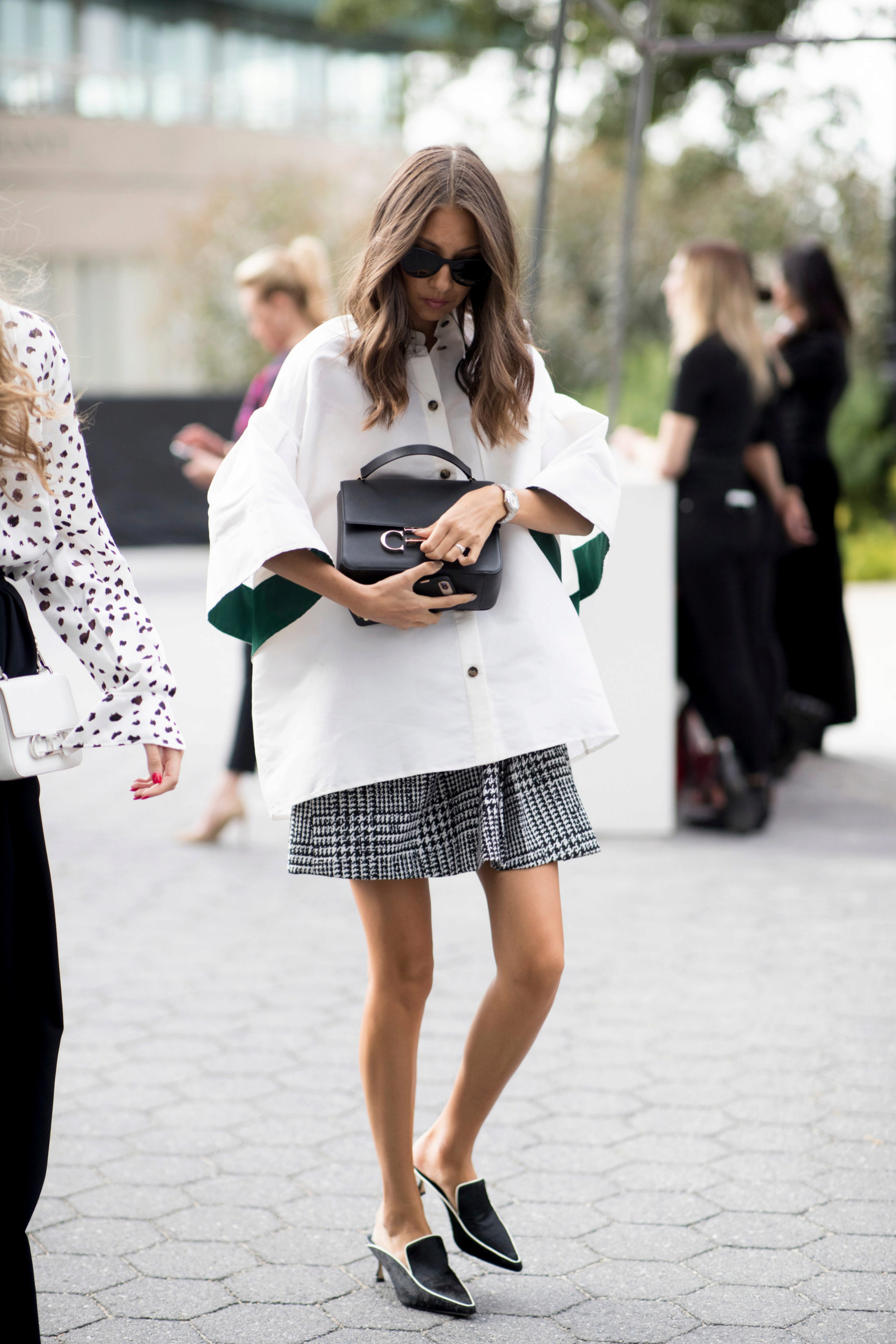 La combinación de colores blanco y negro es la más sofisticada de todas